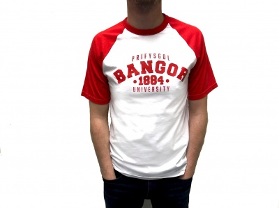 Bangor University Short Sleeve T-Shirt (R/W)