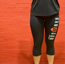 Women's Cropped Sports Leggings