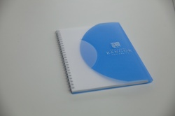 Blue Binder Notepad