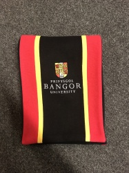 Bangor University Traditional Wool Scarf